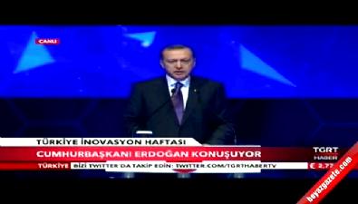 Cumhurbaşkanı Recep Tayyip Erdoğan Türkiye İnovasyon Haftası Kapanış Toplantısı'nda konuştu