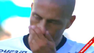 Alex de Souza veda maçı görüntüleri