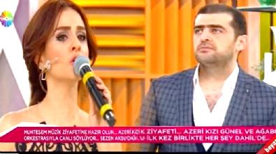 Azeri Sanatçı Günel ve Ağabeyi Tunar Rahmanoğlu'ndan Mehriban Aliyeva'ya Muhteşem Şarkı! Dinle