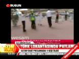Türk Lokantasında Patlama: 9 Ölü İşte Olay Yerinden İlk Görüntüler