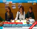 Gönüllü Gençler ''Ankara'nın Oyları''na Sahip Çıkacak