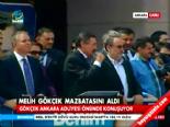 Melih Gökçek'in Ankara Adliyesi Önündeki Konuşması