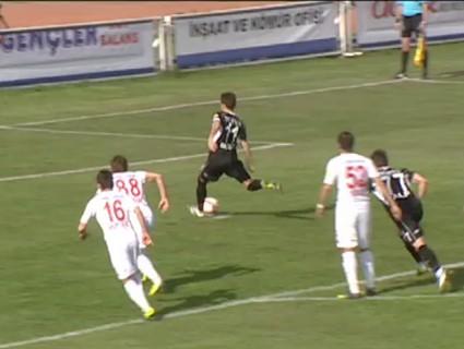 boluspor - Boluspor Kahramanmaraşspor: 1-0 Maç Özeti (06 Nisan 2014)
