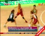 Fenerbahçe Galatasaray Odeabank: 81-61 Bayan Basketbol Final Serisi 3. Maç Özeti