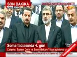 taner yildiz - Bakan Taner Yıldız'dan Soma Açıklaması