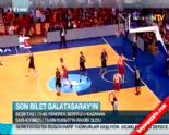 Galatasaray Beşiktaş: 78-65 Basketbol Çeyrek Final Maç Özeti (20 Mayıs 2014)