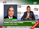 Mahmut Uslu: Ergin Ataman çok meraklıysa gösteririm