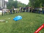 Gezi Parkı'nda Erkek Cesedi Bulundu