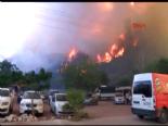 Antalyada Yangın Dehşeti!