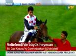 88. Gazi Koşusu'nu Halis Karataş'ın Jokeyliğini Yaptığı 'Blaze To Win' Kazandı (Gazi Koşusu 2014)