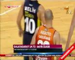 Galatasaray L.H Fenerbahçe Ülker: 73-64 Final Serisi 3. Maç Özeti (08 Haziran 2014)