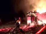 Muğla'da İtfaiyenin Hortumları Karışınca Ev Tamamen Yandı
