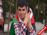 Mazlumder, İsrail Büyükelçiliği Önünde İftar Yaptı