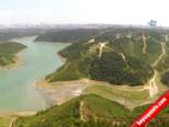 Kurumaya Yüz Tutan Alibeyköy Barajı Havadan Görüntülendi