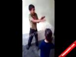 Suriyeli Çocuğu Kızlarına Dövdürttüler!