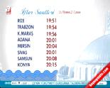 25 Temmuz 2014 İftar Saatleri-Bugün İçin İftar Vakti (İzmir-İstanbul-Antalya-Ankara İçin İftar Saati)