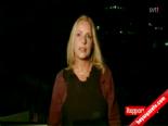 İsveçli Spiker Gazze'den Canlı Yayın Yaparken Roket Düştü