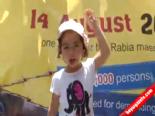 Beyoğlu'nda 'Rabia Günü' Yürüyüşü