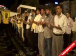 14 Ağustos Rabia Katliamı Şanlıurfa'da Protesto Edildi