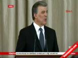 Cumhurbaşkanı Gül'den 'son' resepsiyon
