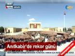 Anıtkabir'de dev Atatürk portresi rekoru