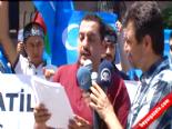 Ankara İnanç Özgürlüğü Platformu Çin Büyükelçiliği Önünde Eylem Yaptı