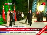 """62. Hükümet""""in Bakanları Köşk'te 'Zafer' resepsiyonunda"""