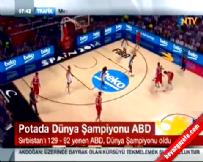 ABD Sırbistan: 129-92 FİBA Basketbol Dünya Kupası Final Maç Özeti (Şampiyon USA)