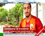 Galatasaray'ın Yeni Transferleri Tarık Çamdal, Pandev ve Dzemaili İmzayı Attı