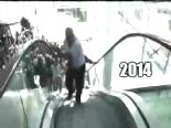 chp kurultay - CHP'liler Yürüyen Merdiven ters Bindi