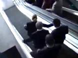 chp kurultay - CHP'liler Yürüyen Merdiven Yine Ters Bindi