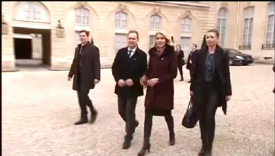 Danimarka Başbakanı'nın talihsiz anı