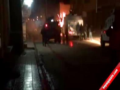 Mardin Nusaybin'de Olaylar Çıktı 1'i Komiser 2 Polis Yaralandı!