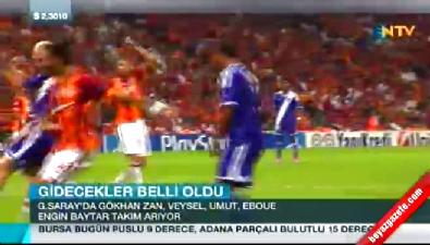 Galatasaray'da gönderilecek isimler belli oldu