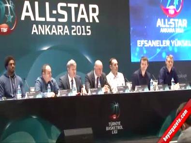 Türkiye Basketbol Ligi'nin All-Star 2015'in kadrosu