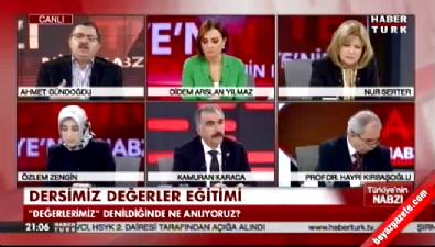 Ahmet Gündoğdu'dan 'değerler eğitimi' çıkışı