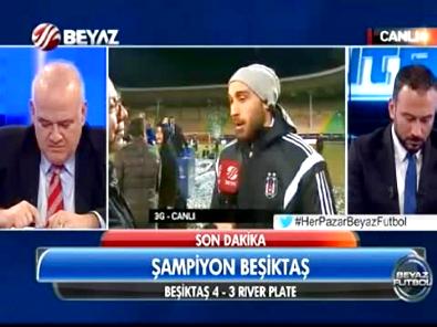 Beşiktaşlı Cenk Tosun'dan Beyaz Futbol'a Özel Açıklamalar