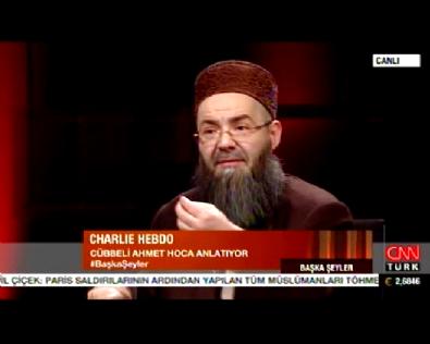 Cübbeli Ahmet Hoca'dan Charlie Hebdo Yorumu