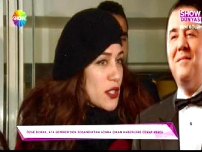 ata demirer - Özge Borak Ata Demirer sorularına cevap verdi