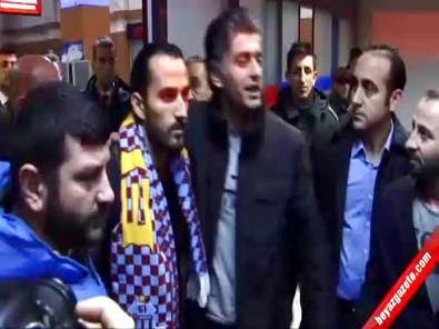 Trabzonspor'un Yeni Transferi Erkan Zengin Trabzon'da Coşkuyla Karşılandı