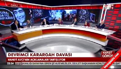Balçiçek İlter'in sunduğu Karşıt Görüş programında sert tartışma
