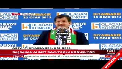 Başbakan Davutoğlu Kürtçe Seslendi