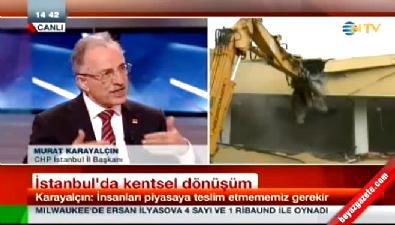 Murat Karayalçın 26 yıl öncesinin projelerini hatırlattı