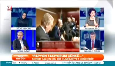 Halk Tv'de 'Soner Yalçın' rezaleti