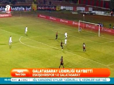 Eskişehirspor Galatasaray: 1-0 Maç Özeti ve Golü (28 Ocak 2015)