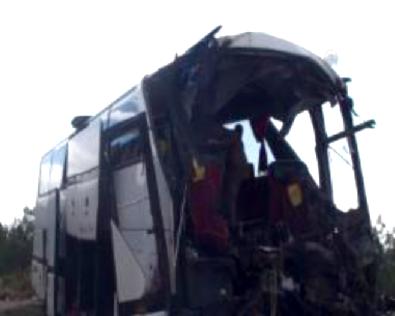 Mevsimlik işçileri taşıyan otobüsün tırla çarpışması - ANTALYA