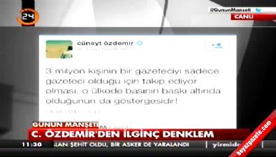 Melih Altınok'tan Cüneyt Özdemir'e: Kız çocukları gibi neden alınganlık yapıyorsun?