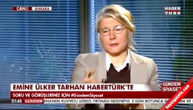 Emine Ülker Tarhan, CHP sorusu sorulunca sinirlendi
