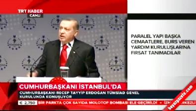 Cumhurbaşkanı Erdoğan: MOSSAD işbirliğini göremiyorlarsa yazıklar olsun