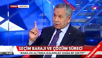 Bülent Arınç'tan HDP için kritik tahmin